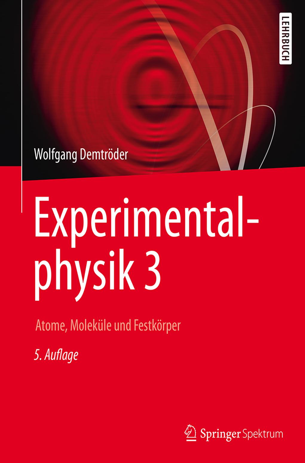 Cover zu Demtröder Ex3