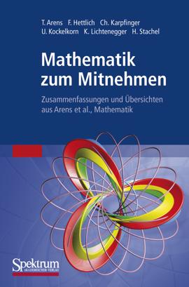 """Cover zu """"Mathematik zum Mitnehmen"""""""