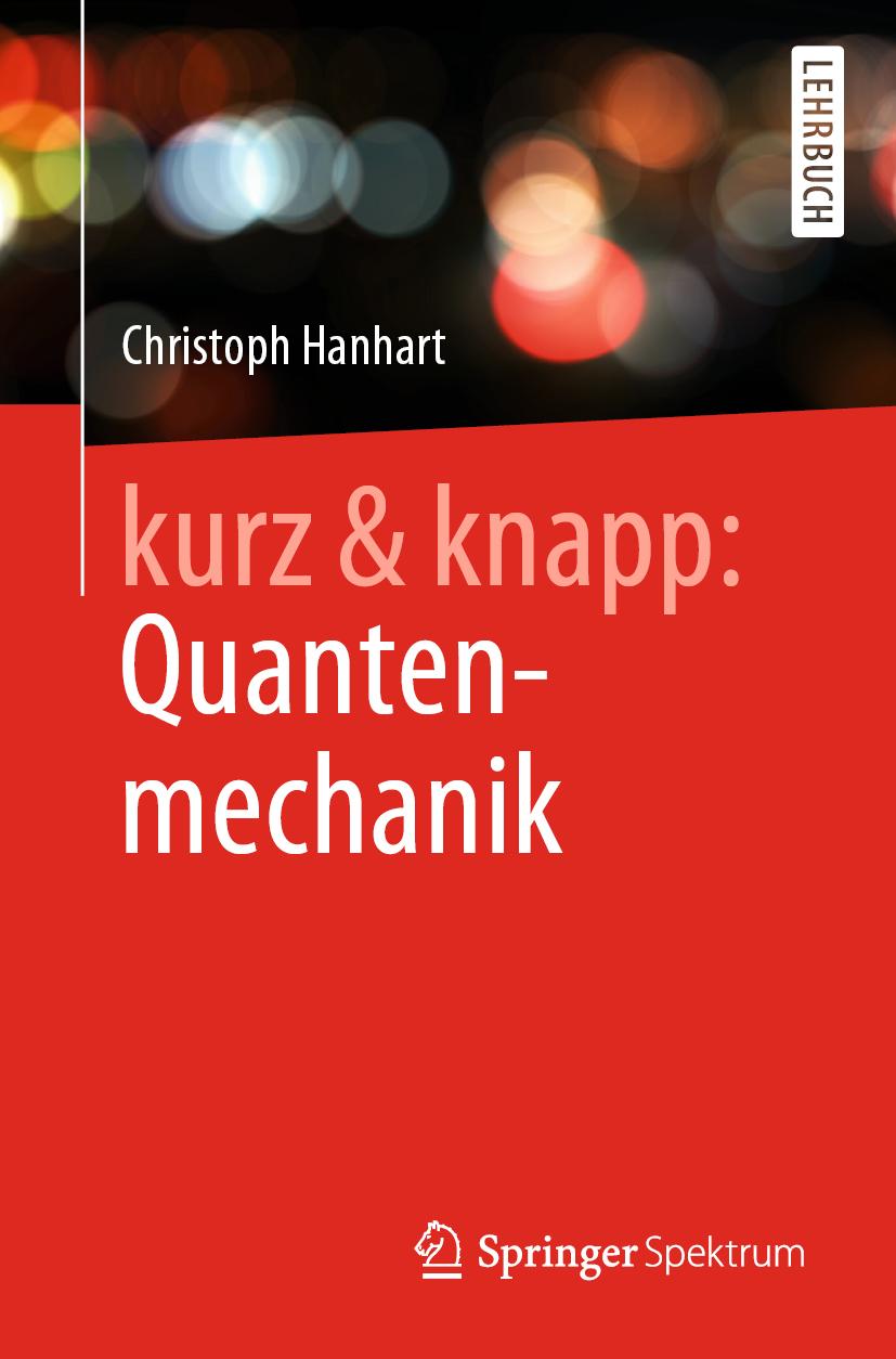 Cover zu Hanhart - kurz knapp Quantenmechanik